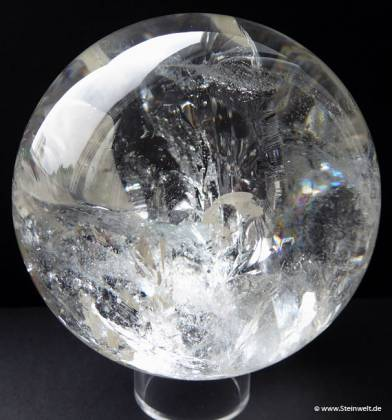 crystal quartz sphere ball
