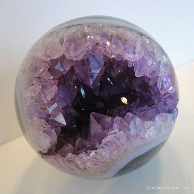 amethyst geode sphere ball. Black Bedroom Furniture Sets. Home Design Ideas