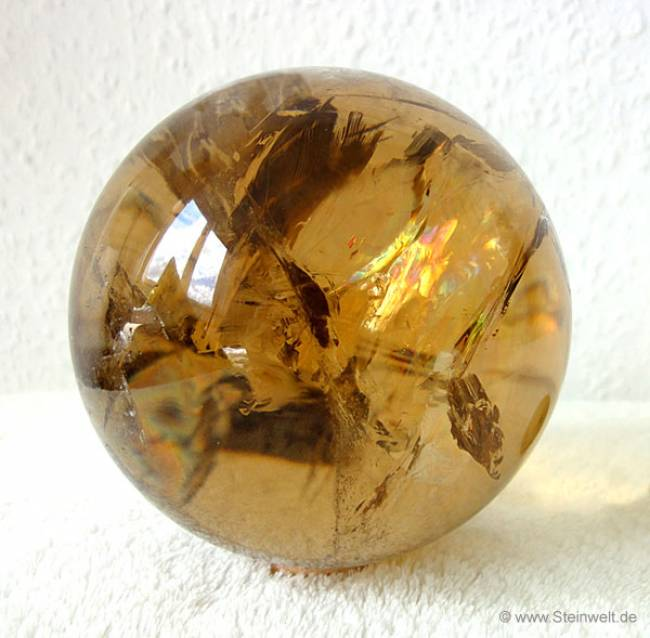 Citrine Sphere