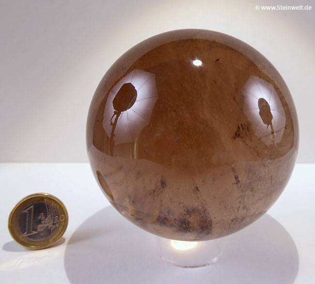 Smoky Quartz Sphere