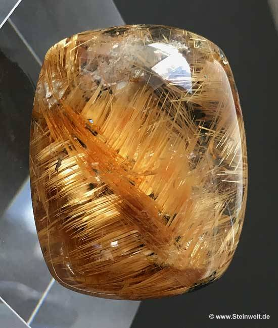 rutilated rutile quartz
